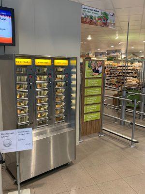 ADM automaten - snackautomaat in supermarkt