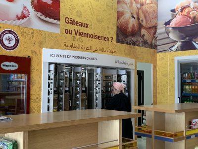 ADM automaten - snackautomaat in Marokko